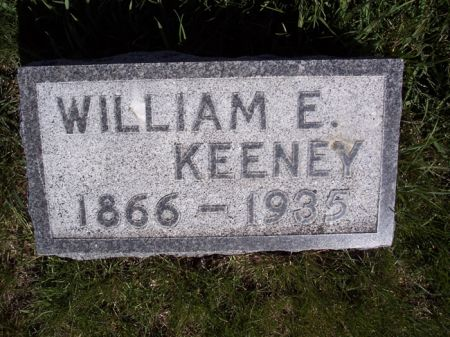 KEENEY, WILLIAM E. - Page County, Iowa   WILLIAM E. KEENEY