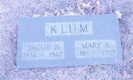 KLUM, JACOB N. - Page County, Iowa | JACOB N. KLUM