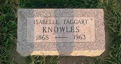 TAGGART KNOWLES, ISABELLE - Page County, Iowa | ISABELLE TAGGART KNOWLES