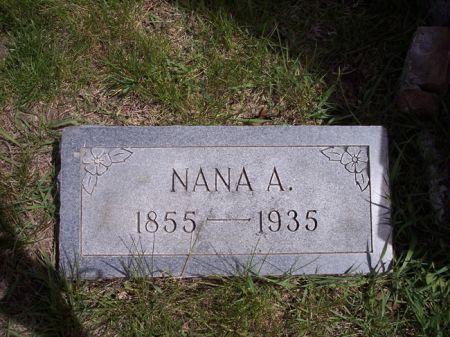 KNOX, NANA A. - Page County, Iowa   NANA A. KNOX