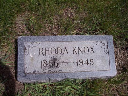 KNOX, RHODA - Page County, Iowa | RHODA KNOX