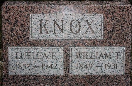 KNOX, WILLIAM T - Page County, Iowa   WILLIAM T KNOX