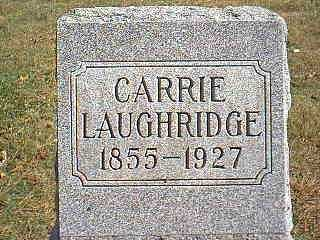 LAUGHRIDGE, CARRIE - Page County, Iowa | CARRIE LAUGHRIDGE
