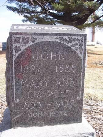 LAWSON, MARY ANN - Page County, Iowa | MARY ANN LAWSON