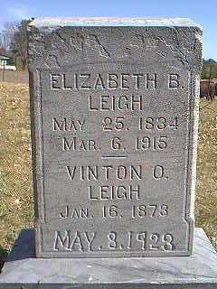 LEIGH, ELIZABETH B. - Page County, Iowa | ELIZABETH B. LEIGH