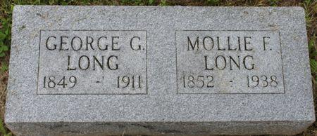 LONG, GEORGE G - Page County, Iowa | GEORGE G LONG