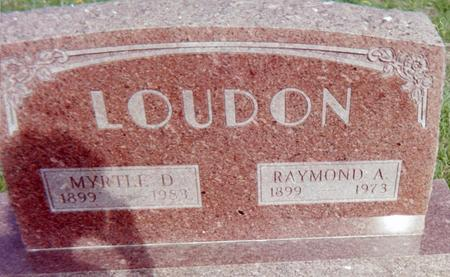 LOUDON, RAYMOND A. - Page County, Iowa | RAYMOND A. LOUDON