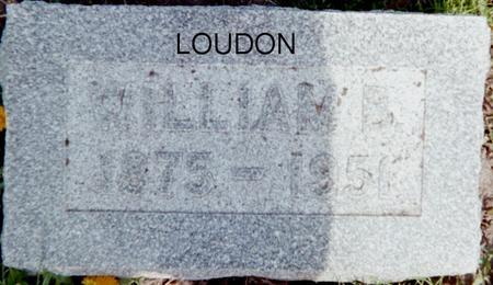 LOUDON, WILLIAM B. - Page County, Iowa | WILLIAM B. LOUDON