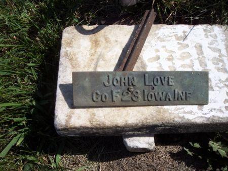 LOVE, JOHN - Page County, Iowa   JOHN LOVE