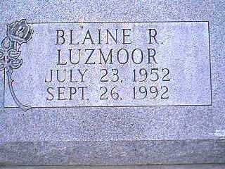 LUZMOOR, BLAINE R. - Page County, Iowa | BLAINE R. LUZMOOR