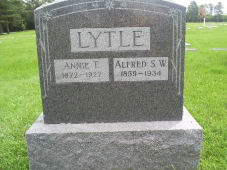 LYTLE, ANNIE T - Page County, Iowa | ANNIE T LYTLE