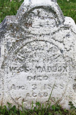 MADDOX, HARRY - Page County, Iowa | HARRY MADDOX