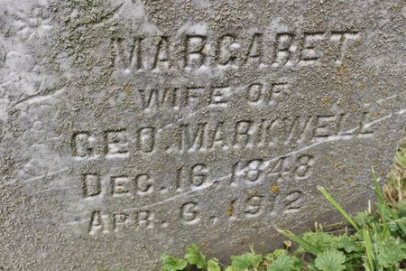 MARKWELL, MARGARET - Page County, Iowa | MARGARET MARKWELL