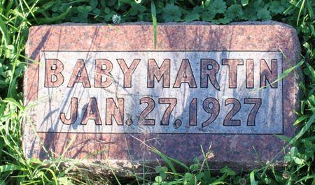 MARTIN, BABY - Page County, Iowa | BABY MARTIN