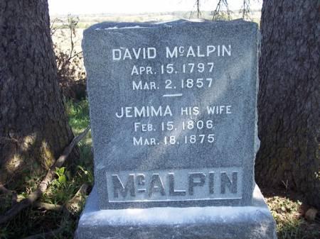 MCALPIN, DAVID - Page County, Iowa | DAVID MCALPIN