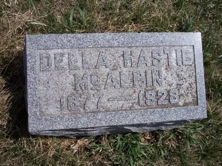 HASTIE MCALPIN, DELLA - Page County, Iowa | DELLA HASTIE MCALPIN