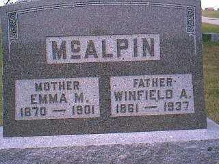 MCALPIN, WINFIELD A. - Page County, Iowa | WINFIELD A. MCALPIN