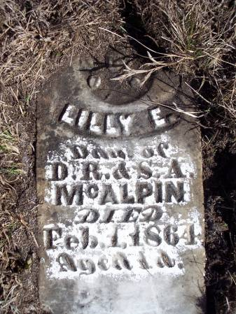 MCALPIN, LILLY E. - Page County, Iowa   LILLY E. MCALPIN