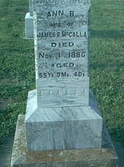 MCCALLA, ANN B - Page County, Iowa | ANN B MCCALLA