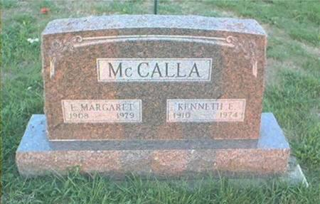 MCCALLA, E MARGARET - Page County, Iowa | E MARGARET MCCALLA