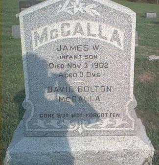 MCCALLA, JAMES W - Page County, Iowa | JAMES W MCCALLA