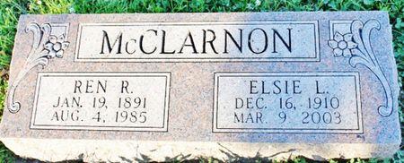 BEERY MCCLARNON, ELSIE L - Page County, Iowa   ELSIE L BEERY MCCLARNON