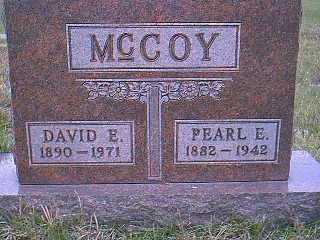MCCOY, PEARL E. - Page County, Iowa | PEARL E. MCCOY
