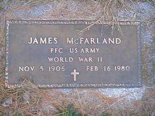MCFARLAND, JAMES - Page County, Iowa | JAMES MCFARLAND