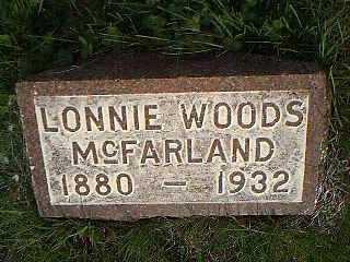 MCFARLAND, LONNIE WOODS - Page County, Iowa | LONNIE WOODS MCFARLAND