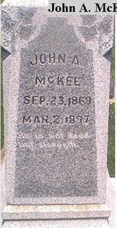 MCKEE, JOHN A. - Page County, Iowa | JOHN A. MCKEE