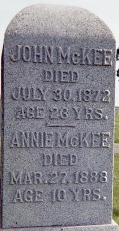 MCKEE, ANNIE - Page County, Iowa | ANNIE MCKEE