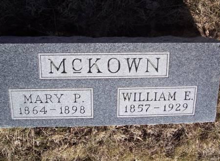 MCKOWN, WILLIAM E. - Page County, Iowa   WILLIAM E. MCKOWN