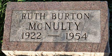 BURTON MCNULTY, GWENDOLYN RUTH - Page County, Iowa | GWENDOLYN RUTH BURTON MCNULTY