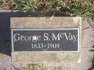 MCVAY, GEORGE S. - Page County, Iowa | GEORGE S. MCVAY