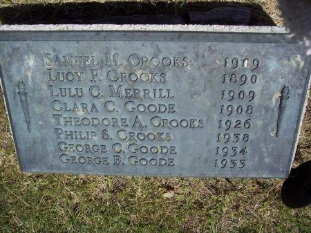 GOODE, GEORGE B. - Page County, Iowa | GEORGE B. GOODE