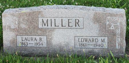 MILLER, EDWARD MASON - Page County, Iowa   EDWARD MASON MILLER