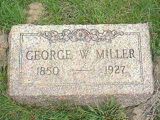 MILLER, GEORGE W. - Page County, Iowa | GEORGE W. MILLER