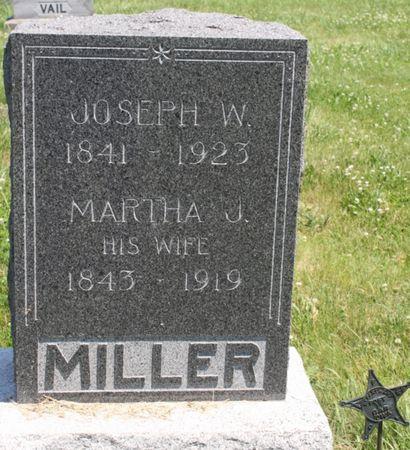 DENNIS MILLER, MARTHA J - Page County, Iowa | MARTHA J DENNIS MILLER