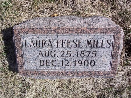 FEESE MILLS, LAURA - Page County, Iowa | LAURA FEESE MILLS