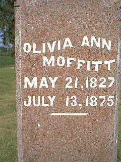 MOFFITT, OLIVIA ANN - Page County, Iowa | OLIVIA ANN MOFFITT