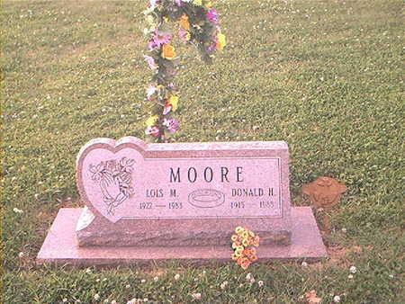 MOORE, DONALD HUBERT - Page County, Iowa | DONALD HUBERT MOORE