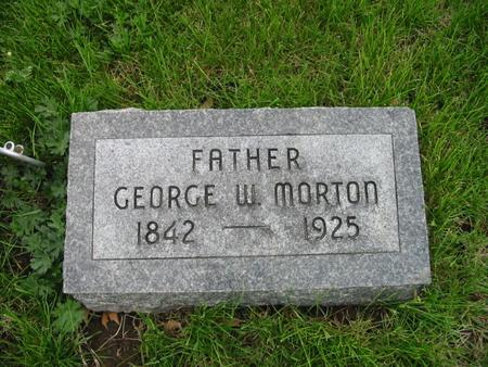 MORTON, GEORGE - Page County, Iowa   GEORGE MORTON