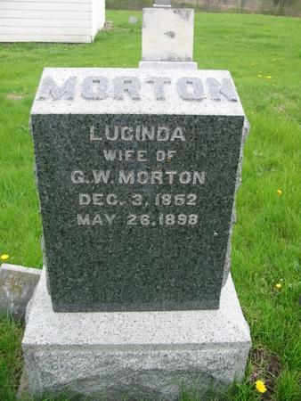 CLINE MORTON, LUCINDA - Page County, Iowa | LUCINDA CLINE MORTON