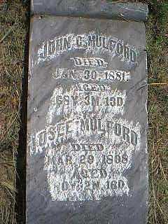 MULFORD, OSEE - Page County, Iowa | OSEE MULFORD