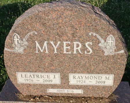MYERS, LEATRICE JANE - Page County, Iowa | LEATRICE JANE MYERS