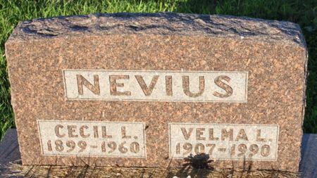 NEVIUS, CECIL LEROY - Page County, Iowa | CECIL LEROY NEVIUS