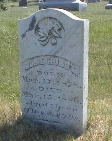 HURST, OLLIE - Page County, Iowa | OLLIE HURST