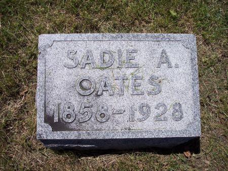 OATES, SADIE A. - Page County, Iowa | SADIE A. OATES