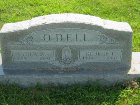 O'DELL, LOLA M - Page County, Iowa | LOLA M O'DELL
