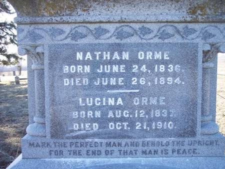 ORME, LUCINA - Page County, Iowa | LUCINA ORME